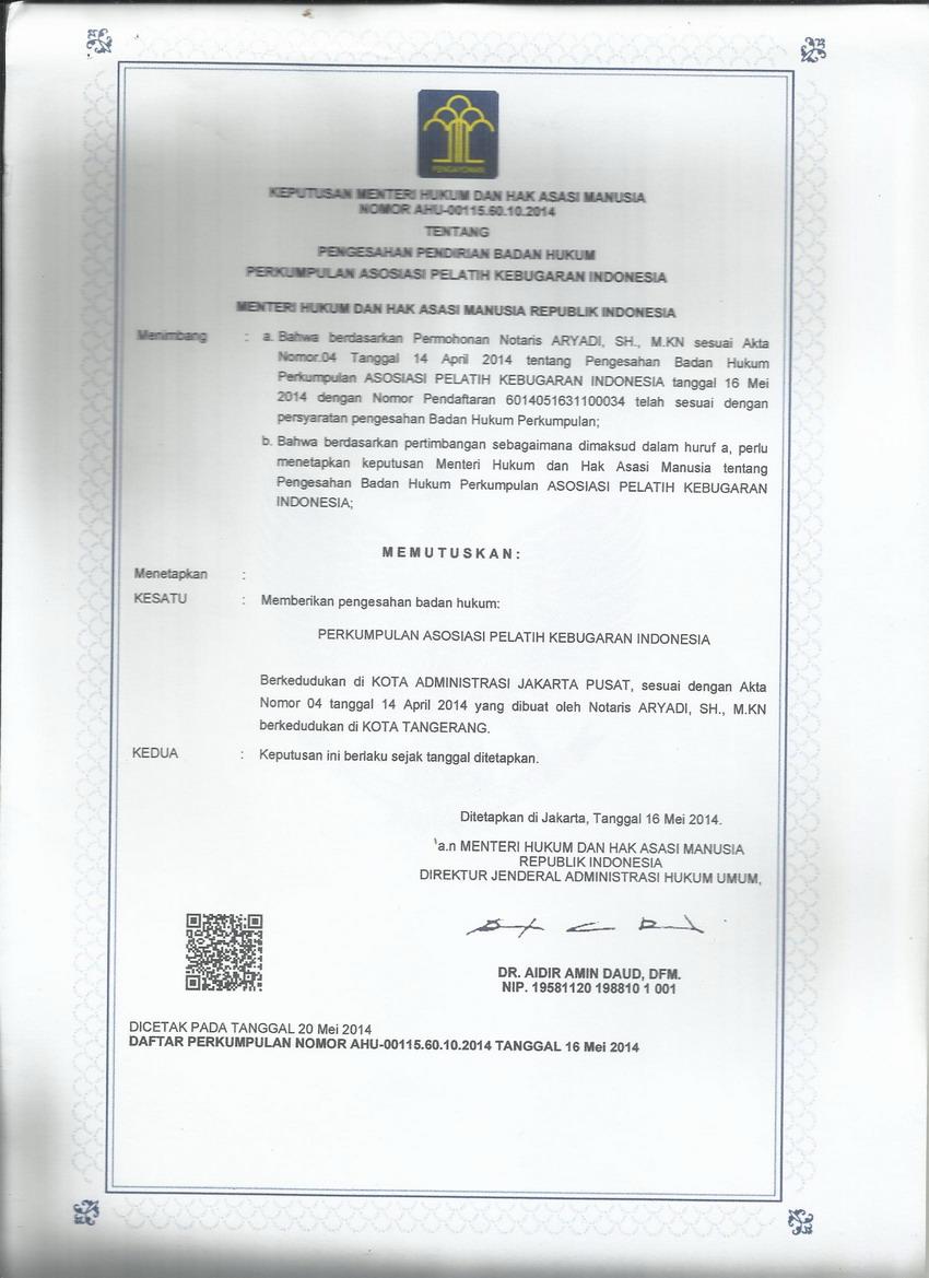 Legalitas indonesia