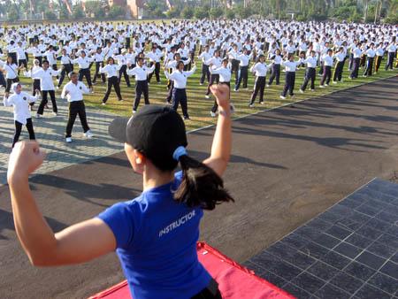 Turun Berat Badan Dengan Latihan Aerobik